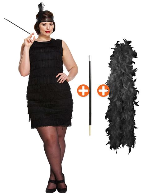 plus size flapper costume 1920s costumes 20s halloween ladies plus size 1920s flapper costume 20s fancy dress hub