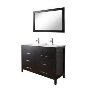 shop vigo maxine sink bathroom vanities espresso