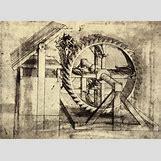 Leonardo Da Vinci Drawing Mechanical | 529 x 386 jpeg 54kB