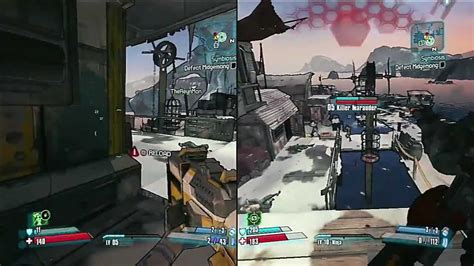 Co Op Ps3 by Borderlands 2 Split Screen Co Op Gameplay With The
