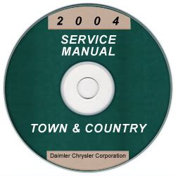 free auto repair manuals 2004 chrysler town country user 2004 chrysler town country service manual cd rom