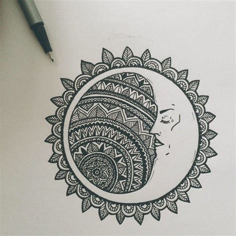 bali tattoo mandala slightly obsessed zentangle pinterest