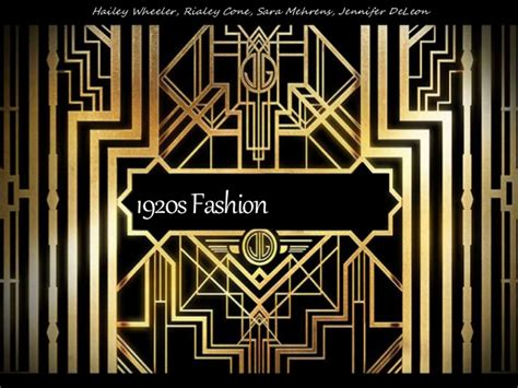 the great gatsby 1920 s america ppt download 1920s fashion