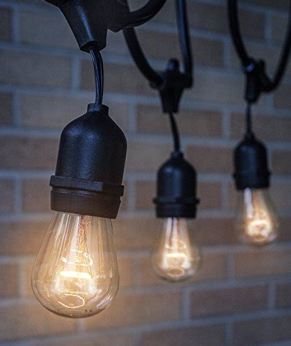 Outdoor Indoor Edison Style String Lights Commercial Edison Style Outdoor String Lights