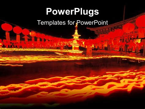 powerpoint template chinese oriental theme with oriental