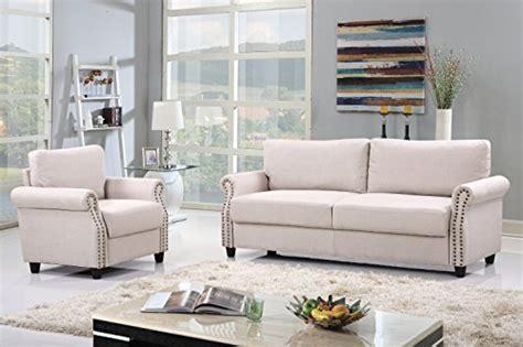 linen fabric sofa set living room furniture couch velvet 2 piece classic linen fabric living room sofa and armchair