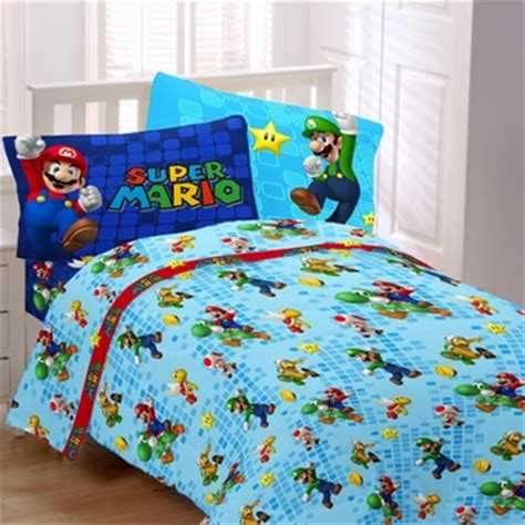 super mario bedding mario fresh look bedding for kids