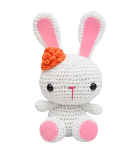 bunnies handmade amigurumi stuffed knit crochet doll