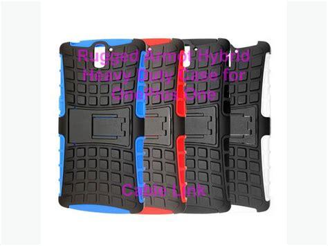 Oneplus One Rugged Shockproof Armor Hybrid Soft Merah shockproof rugged armor kickstand for oneplus one