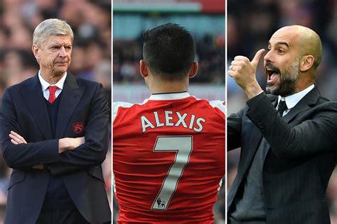 alexis sanchez guardiola manchester city vs arsenal pep guardiola says alexis