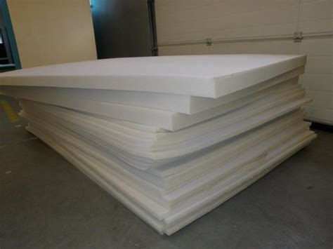 2 upholstery foam polyurethane upholstery foam 80 x 48 x 2 for sale in