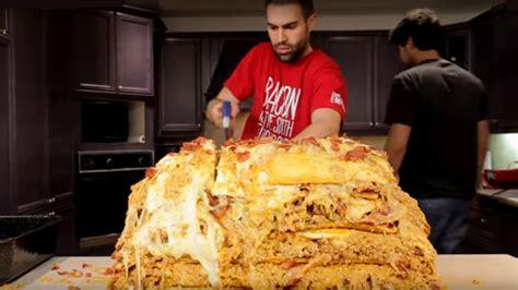 fett maenner kochen lasagne mit  million kalorien