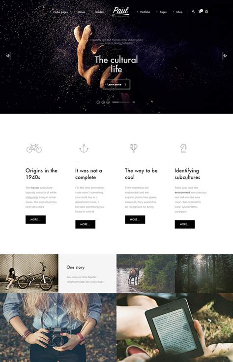 Themes Of Storytelling | 20 fantastic storytelling wordpress themes web graphic