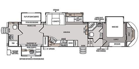 wildwood fifth wheel floor plans 2014 wildwood by forest river heritage glen lite fifth