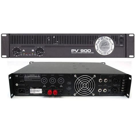 b stock peavey pv900 power lifier disco band dj pv 900