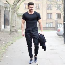 black t shirt mens black modal cotton t shirt vascular wear