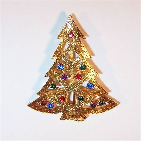 eisenberg ice christmas tree pin from ruthsredemptions on