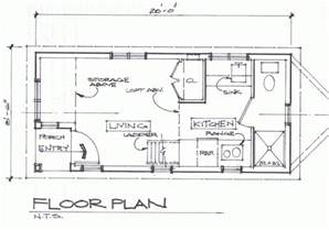 Small Floor Plans Cottages by Cottage Floor Plan Tiny House Blog