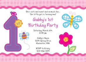 1st birthday invitation template birthday invitations templates free