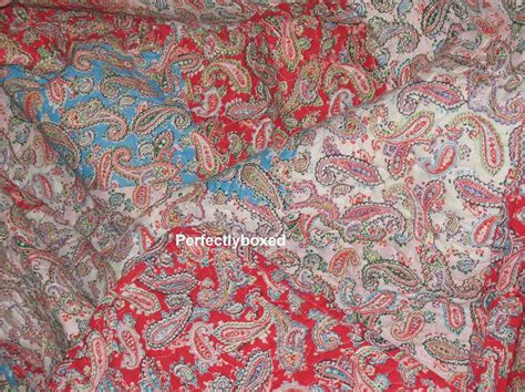 Paisley Patchwork Quilt - paisley bedspread superking www perfectlyboxed