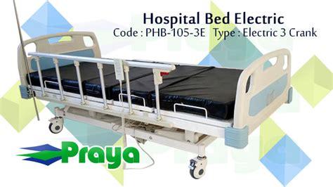 Tempat Tidur Electric hospital bed electric 3 crank tempat tidur 3 posisi alkesmandiri