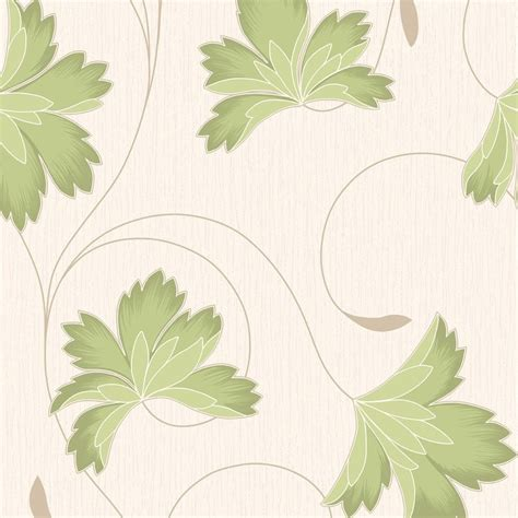 wallpaper green and cream buy crown flourish wallpaper apple green cream