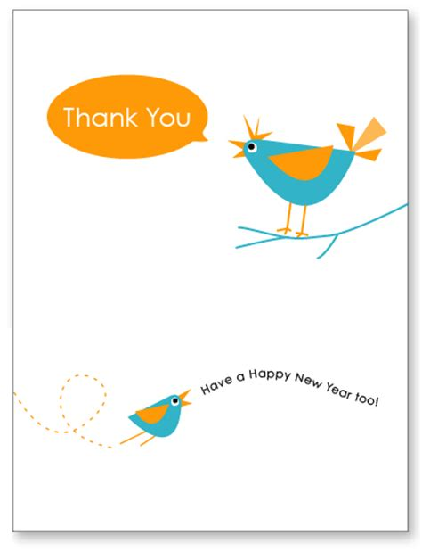 free new year card template happy new year free printable thank you card