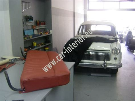 car upholstery ta ford consul με δερματινη