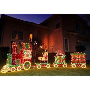outdoor christmas train decoration x mas collection