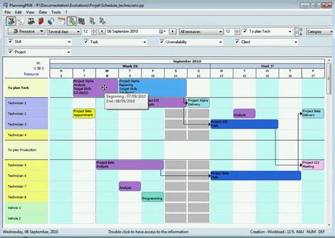 manufacturing capacity planning template production planning gantt chart