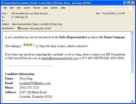 Email For Resume Forwarding by How To Mail A Resume To Hr Resume Ideas