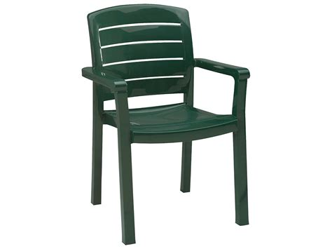 Grosfillex Acadia Stacking Arm Chair (Sold in 4)   US119078