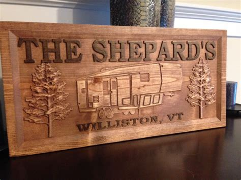 Handmade Signs Wood - cer signs aj wood products custom carved signs more