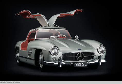 Pocher Mercedes Gullwing 300 SL 1/8 1:8 metal kit