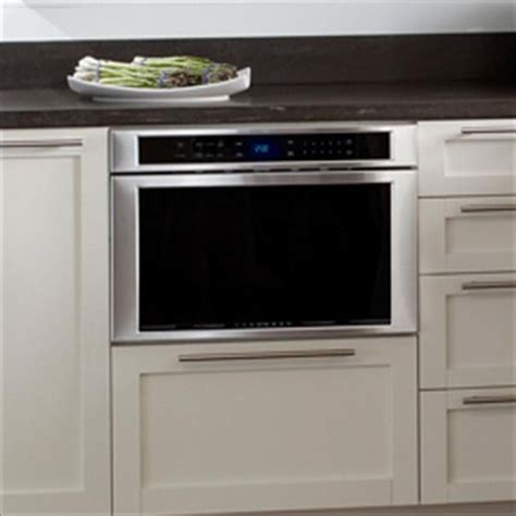 Built In Drawer Microwave Ovens by Md24js Thermador 24 Inch Built In Microdrawer 1 2 Cu Ft