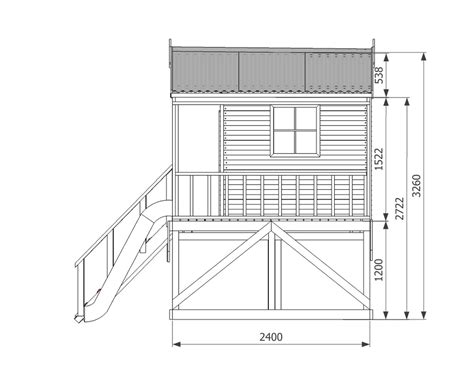 Cubby House Plans Free Sandelwood Cubby House Australian Made Wooden Playground Diy Kits