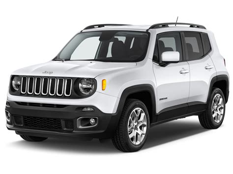 jeep renegade white 2015 jeep renegade exterior features