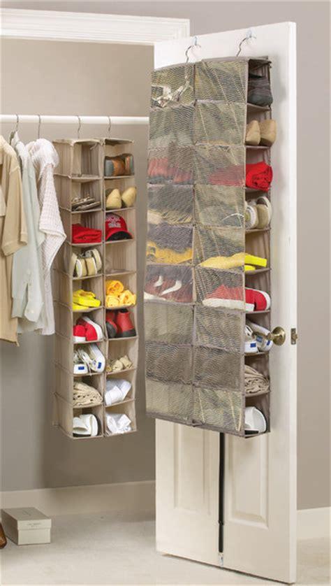 mesh closet organizer 18 pair mesh overdoor shoe organiser contemporary