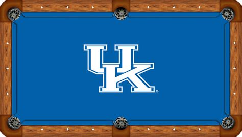 kentucky wildcats 7 pool table felt pool table cloth