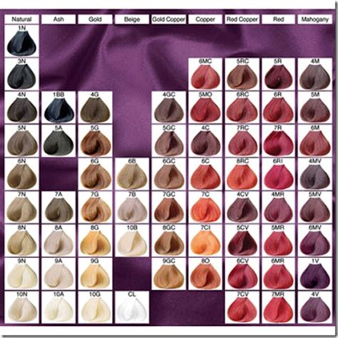 Clairol Professional Flare Hair Color Chart | professional clairol soy hair color chart success quotes