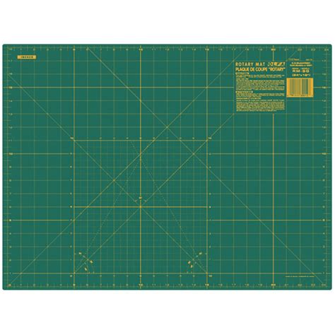 Olfa Cutting Mats by Olfa Gridded Cutting Mat 18 In X 24 In Green Home