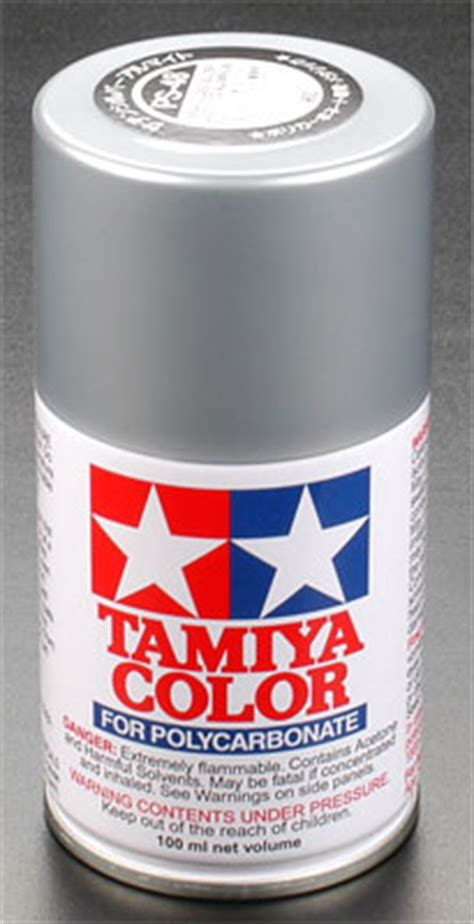 Tamiya Color For Polycarbonate Ps 12 Silver tamiya ps 48 semi gloss metallic silver polycarbonate
