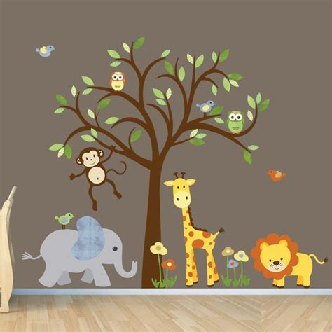 ideas  animal wall decals  pinterest