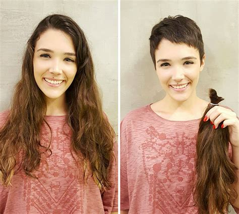 before and after haircuts share before after pics of your extreme haircut