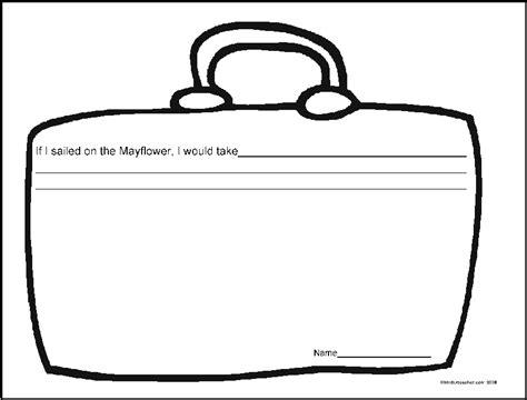 blank suitcase template novemberideasad
