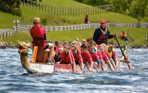 dragon boat racing llys y fran rotary club delighted by llys y fran investment the