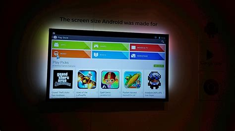 how to play from android to tv philips android smart tv on review review pc advisor