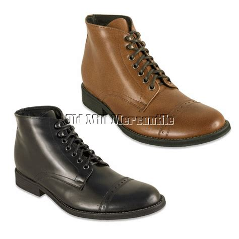 mens vintage style boots mens edwardian vintage style boots oak tree