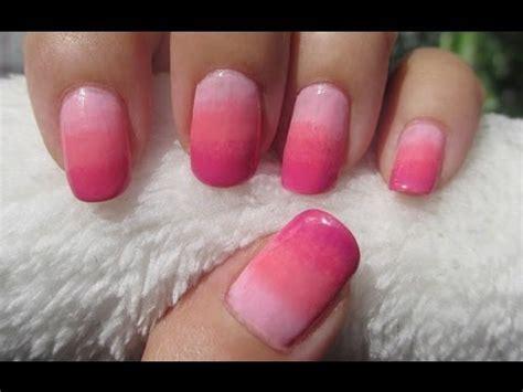 tutorial nail art ombre ombre nail art tutorial youtube
