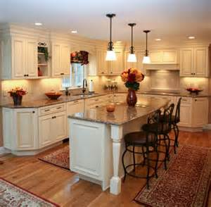 idea view white kitchen with black iron stool chairs island backs august